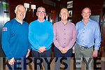 Attending the Masters Classic Final dinner for the Tralee Golf Club in Benners Hotel on Saturday night.<br /> L-r, Mike Halloran, Hugh O&rsquo;Farrell, Ger Hussey and Sean O&rsquo;Loughlin.