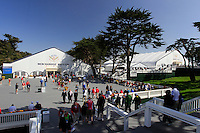 The tented village during Wednesday's Practice Day of the 112th US Open Championship at The Olympic Club, San Francisco,  California, 13th June 2012 (Photo Eoin Clarke/www.golffile.ie)