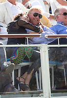 Boris Becker & Lilly Becker attend the Optima Open 2013 in Knokke - Belgium