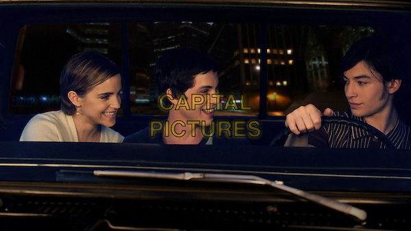Emma Watson, Logan Lerman, Ezra Miller<br /> in The Perks of Being a Wallflower (2012) <br /> (Le monde de Charlie)<br /> *Filmstill - Editorial Use Only*<br /> CAP/NFS<br /> Image supplied by Capital Pictures