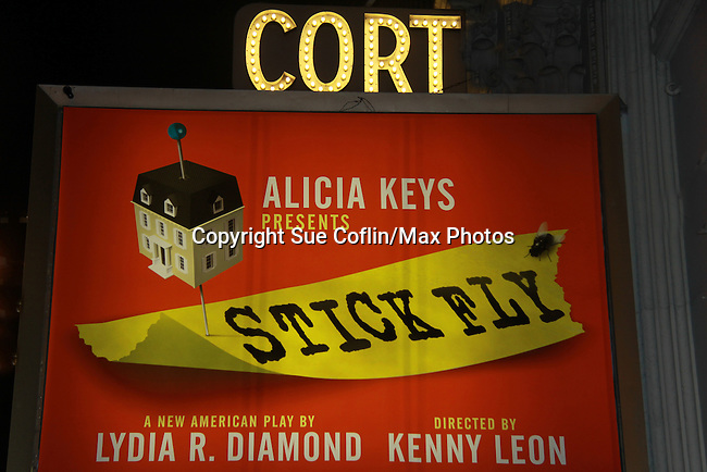 Broadway's Stick Fly at the Cort Theatre, New York City, New York on December 17, 2011. (Photo by Sue Coflin/Max Photos)