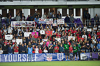 Orlando, FL - Wednesday March 07, 2018: USWNT supporters during the She Believes Final Cup Match featuring USA Women's National Team vs. Englands Women's National Team