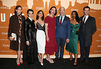 HOLLYWOOD, CA - DECEMBER 3: Christiane Paul, Sara Serraiocco, Nazanin Boniadi, Olivia Williams, J. K. Simmons, Betty Gabriel, Harry Lloyd, at the Season 2 premiere of Counterpart at The Arclight Hollywood in Hollywood, California on December 3, 2018. <br /> CAP/MPIFS<br /> &copy;MPIFS/Capital Pictures