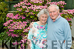 Mary&Peter McGrath from Listowel, celebrated their Diamond wedding anniversary, 60years, last Saturday night in their home town, pictured here in their garden on Tuesday evening, August 6th.