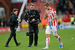 Joy for goalscorer Marko Arnautovic at the end of the game - Football - Barclays Premier League - Stoke City vs Manchester City - Britannia Stadium Stoke - December 5th 2015 - Season 2015/2016 - Photo Malcolm Couzens/Sportimage
