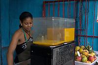 shop selling fruit juice, Havana, Cuba