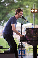 Ben Folds performs on day 2 of the 2019 Latitude Festival at Henham Park, Suffolk. 20th July 2019<br /> <br /> Photo by Stuart Hogben