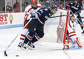Charlie McAvoy (BU - 7), Patrick Kirtland (UConn - 24), Sean Maguire (BU - 31) - The Boston University Terriers defeated the visiting University of Connecticut Huskies 4-2 (EN) on Saturday, October 24, 2015, at Agganis Arena in Boston, Massachusetts.
