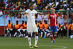 13 JUN 2010: Kevin Prince Boateng (GHA). The Serbia National Team lost 0-1 to the Ghana National Team at Loftus Versfeld Stadium in Tshwane/Pretoria, South Africa in a 2010 FIFA World Cup Group D match.