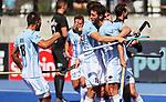 Argentina goal during the Pro League Hockey match between the Blacksticks men and the Argentina, Nga Punawai, Christchurch, New Zealand, Sunday 1 March 2020. Photo: Simon Watts/www.bwmedia.co.nz