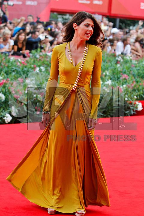 VENEZA, ITALIA, 31 DE AGOSTO 2011 - 68 FESTIVAL DE CINEMA EM VENEZA -  Marisa Tomei durante o Red Carpet no 68 Festival Internacional de Cinema em Veneza na Italia. FOTO: VANESSA CARVALHO - NEWS FREE.