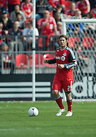 05 May 2012: Toronto FC midfielder Torsten Frings #22 in action during an MLS game between DC United and Toronto FC at BMO Field in Toronto..D.C. United won 2-0.