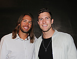 Season 18 contestant Corey Brooks poses with Spencer (L) at Big Brother 19 premiere on June 28, 2017 at Slate, New York City, New York. (Photo by Sue Coflin/Max Photos)