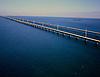 Aerial of the Keys, Seven Mile Bridge