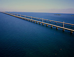 Aerial of the Keys, Seven Mile Bridge
