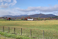 The Scenic Mountains Central Virginia near Charlottesville, Va.  Photo/Andrew Shurtleff Photography, LLC