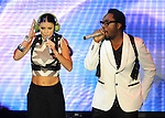 Fergie & Will.i.am of The Black Eyed Peas live at The 102.7's KIIS-FM's Wango Tango 2009 held at The Verizon Wireless Ampitheatre in Irvine, California on May 09,2009                                                                     Copyright 2009 DVS/ RockinExposures