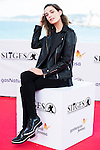 """Canadian actress Kathleen Munroe pose to the media during the presentation of the film """"The Void"""" at the Festival de Cine Fantastico de Sitges in Barcelona. October 08, Spain. 2016. (ALTERPHOTOS/BorjaB.Hojas)"""