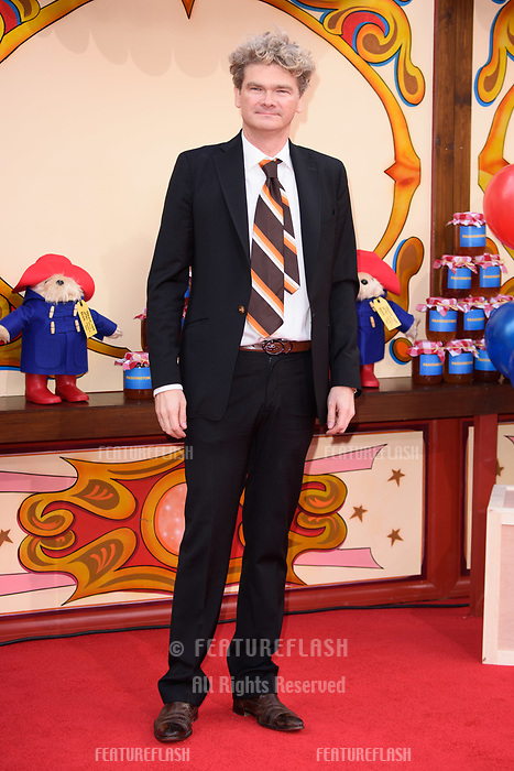 Simon Farnaby at the &quot;Paddington 2&quot; premiere at the NFT South Bank, London, UK. <br /> 05 November  2017<br /> Picture: Steve Vas/Featureflash/SilverHub 0208 004 5359 sales@silverhubmedia.com