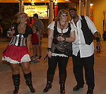 A photograph from the Pirate Crawl held in downtown Reno on Saturday night, August 13, 2016.