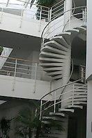 Spiral staircase, University of Surrey.
