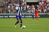 01.08.2015. Cologne, Germany. Pre Season Tournament. Colonia Cup. Valencia CF versus FC Porto.   Cristian Tello was pivotal in most of the Porto attacks in the first half.
