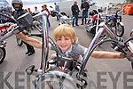 Cian Duggan enjoying the Ballyheigue Summer Festival Grand Parade on Sunday