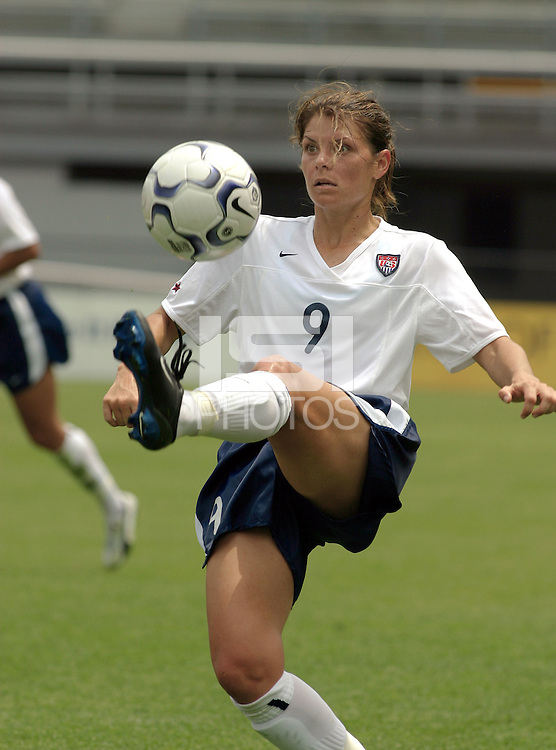 Mia Hamm, USWNT vs England, May 17, 2003.