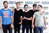 PHILADELPHIA, PA - JULY 10 :  Arkells pictured backstage at Radio 104.5 Summer Block Party at Festival Peir in Philadelphia, Pa on July 10, 2016  photo credit Star Shooter/MediaPunch