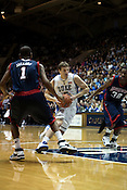November 28, 2008. Durham, NC.. Duke vs. Duquesne at Cameron Indoor Stadium..Martynas Pocius, #5, had 5 points and 1 rebound in the 95-72 Duke victory.