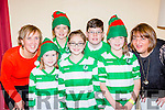 Killarney Celtic members who participated in the Killarney Tops of the Town on Friday night front row l-r: Caoimhe O'Sullivan, Aine Devlin, lucy O'Sullivan. Back row: Angie Kissane, Ellen Leech, Shane McAllister and Suzanne Scully
