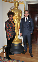 Dee Rees and Jason Clarke at the Academy of Motioon Pictures Arts &amp; Sciences new member party, Spencer House, St James Place, London, England, UK, on Thursday 05 October 2017.<br /> CAP/CAN<br /> &copy;CAN/Capital Pictures