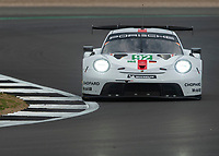 Michael Christensen (DNK), Kevin Estre (FRA) PORSCHE GT TEAM during the WEC 4HRS of SILVERSTONE at Silverstone Circuit, Towcester, England on 31 August 2019. Photo by Vince  Mignott.
