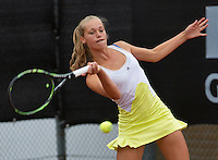 07-08-13, Netherlands, Rotterdam,  TV Victoria, Tennis, NJK 2013, National Junior Tennis Championships 2013, Roos Gerritsen<br /> <br /> <br /> Photo: Henk Koster