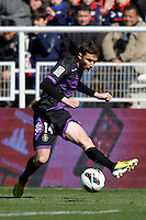 Real Valladolid's Omar Ramos during La Liga  match. February 24,2013.(ALTERPHOTOS/Alconada)