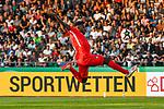 10.08.2019, Donaustadion, Ulm, GER, DFB Pokal, SSV Ulm 1846 Fussball vs 1. FC Heidenheim, <br /> DFL REGULATIONS PROHIBIT ANY USE OF PHOTOGRAPHS AS IMAGE SEQUENCES AND/OR QUASI-VIDEO, <br /> im Bild Merveille Biankadi (Heidenheim, #23)<br /> <br /> Foto © nordphoto / Hafner