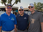 Rick Casazza, Caesar Ibarra and Ryan Cuddy at the Microsoft 8th Annual Charity Golf Tournament held at Red Hawk Golf and Resort in Sparks on Friday, August 19, 2016.