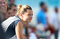 Cary, North Carolina  - Saturday August 19, 2017: Nora Holstad during a regular season National Women's Soccer League (NWSL) match between the North Carolina Courage and the Washington Spirit at Sahlen's Stadium at WakeMed Soccer Park. North Carolina won the game 2-0.