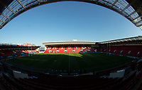 A general view of Ashton Gate, home of Bristol Bears<br /> <br /> Photographer Bob Bradford/CameraSport<br /> <br /> Gallagher Premiership Round 7 - Bristol Bears v Exeter Chiefs - Sunday 18th November 2018 - Ashton Gate - Bristol<br /> <br /> World Copyright © 2018 CameraSport. All rights reserved. 43 Linden Ave. Countesthorpe. Leicester. England. LE8 5PG - Tel: +44 (0) 116 277 4147 - admin@camerasport.com - www.camerasport.com