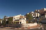 Israel, Jerusalem, Houses at Ramot neighborhood in North Jerusalem<br />