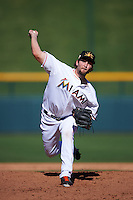 Mesa Solar Sox pitcher Trevor Williams (28) delivers a pitch during an Arizona Fall League game against the Scottsdale Scorpions on October 19, 2015 at Sloan Park in Mesa, Arizona.  Scottsdale defeated Mesa 10-6.  (Mike Janes/Four Seam Images)