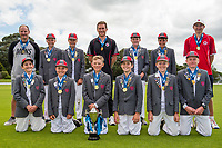 Champions Medbury School. National Primary Cup boys' cricket tournament at Lincoln Domain in Christchurch, New Zealand on Wednesday, 20 November 2019. Photo: John Davidson / bwmedia.co.nz