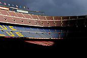 2nd February 2019, Camp Nou, Barcelona, Spain; La Liga football, Barcelona versus Valencia; Views of the Camp Nou stadium an hour before start the match