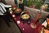 """NEW YORK - MARCH 19: Food presentation at the party at the Bowery Hotel Terrace following the premiere for FX Networks """"What We Do In The Shadows"""" on March 19, 2019 in New York City. (Photo by Anthony Behar/FX/PictureGroup)"""