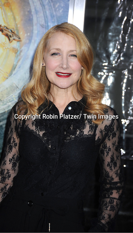 "Patricia Clarkson attends The World Premiere of ""Hugo in 3D"" on November 21, 2011 at The Ziegfeld Theatre in New York City."