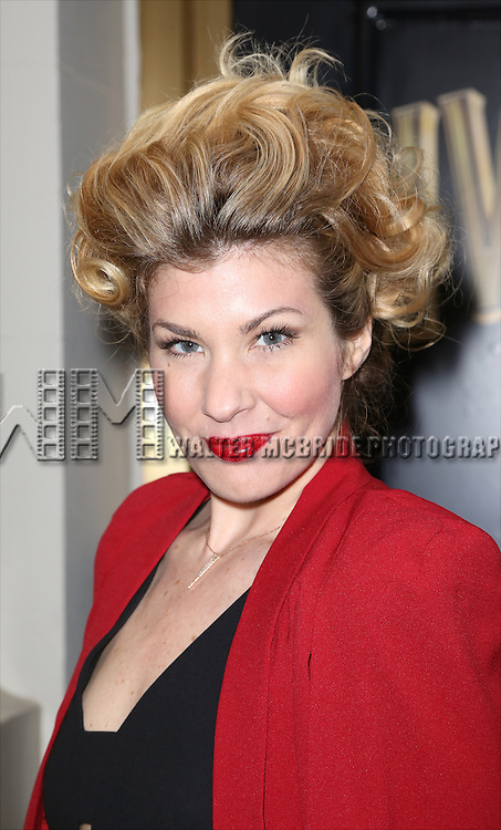 Emily West attends the Broadway Opening Night Performance of  'Living on Love'  at  The Longacre Theatre on April 20, 2015 in New York City.