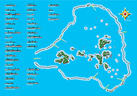 Renderings/Artwork of Maps from Truk Lagoon, Chuuk Micronesia. Dive Sites and wreck locations High-Resolution,