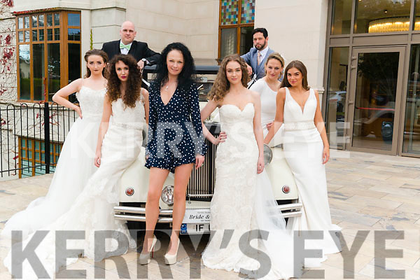 Wedding Fair at the Brehon Hotel, Killarney last Sunday. Pictured are l-r Alan Finn, Sarah Jane Taylor, Aoife Begley, Norma O'Donoghue, Aisling O'Connor, Ruzena Kristofova, Elaine Howard and Timmy Dowd