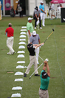 Kevin Phelan (IRL) on the driving range ahead of Round Three of The Tshwane Open 2014 at the Els (Copperleaf) Golf Club, City of Tshwane, Pretoria, South Africa. Picture:  David Lloyd / www.golffile.ie