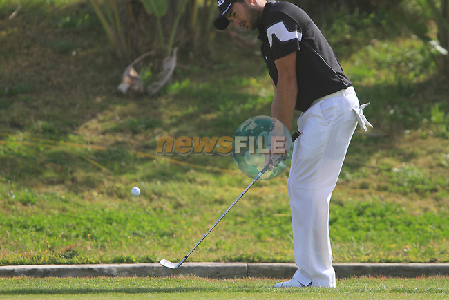 Gareth Maybin (NIR) chips onto the 7th green during Day 1 Thursday of the Open de Andalucia de Golf at Parador Golf Club Malaga 24th March 2011. (Photo Eoin Clarke/Golffile 2011)